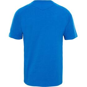 The North Face Wicker Graphic Crew Shirt Men Turkish Sea Heather